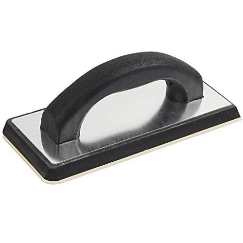Flotador de goma para lechada de 24 x 10 cm, esponja de goma moldeada para lechada de azulejos para mampostería, hormigón, yeso, estuco