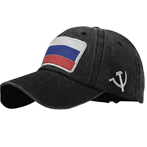 Zonster Mens Russische Flagge Baseball-Kappe Hysteresen-Hut Für Erwachsene