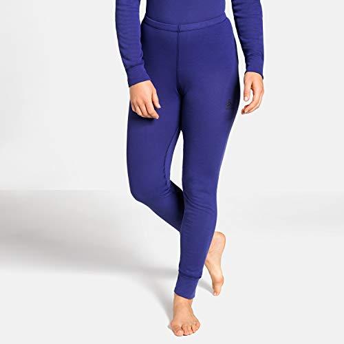 Odlo Damen Pants Warm Funktionsunterwäsche-Unterhosen & Leggings-Bekleidung, Clematis Blue, M