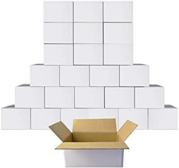 25-Pack Petaflop 6x4x4 Cardboard Shipping Boxes