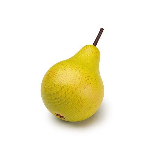 Erzi en bois Play Food - Pretend Play épicerie - Fruits, En forme de poire - version anglaise