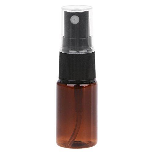Bomba de atomizador de perfume recargable de viaje de 10 ml con pulverizador, botella vacía, recargable y duradera, botella de viaje