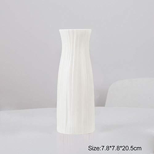 Vase Vase Modern Minimalist Weiß Rosa Grau Ornamente Blumen Vase Arranger Home Vasen Korb Blume Dekoration Vasen-C