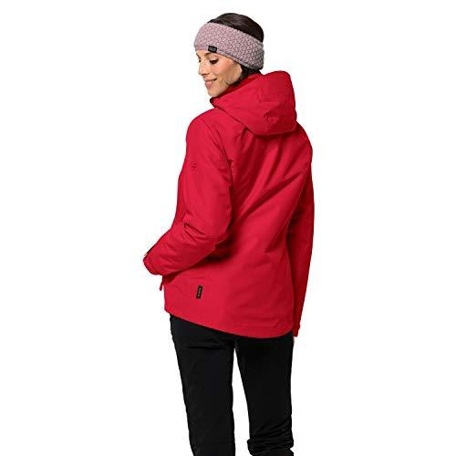 Jack Wolfskin Damen Iceland Voyage 3In1 Women Jacke, red fire, M