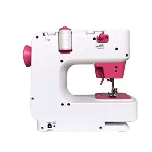 YYhkeby Máquina de Coser doméstica, Mini Máquina de Coser eléctrica Multifuncional, 12 Tipos de máquinas de Coser de Punto de Costura para Principiantes (Tamaño: Reglamento Estadounidense) Jialele
