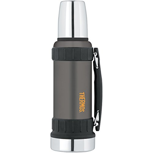 Thermos Work Series 40 Ounce Beverage Bottle, Gunmetal Gray