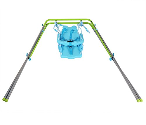 Sportspower My First Toddler Swing - Heavy-Duty Baby Indoor/Outdoor Swing Set with Safety Harness