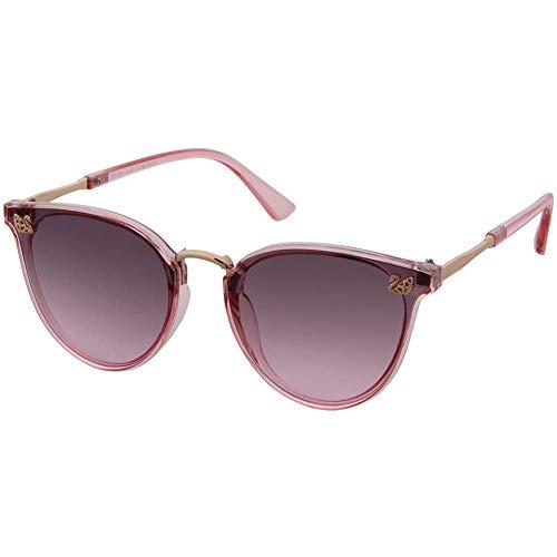 OGOBVCK OGOBVCK cat eye sonnenbrille klassische vintage schattierungen überdimensionalen designer große ultra thin 100% uv schutz für frauen und mädchen (Pink)