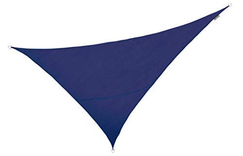 Kookaburra Tenda A Vela Triangolo Rettangolo 6,0M X 4,2M Intrecciata Traspirante Protezione Anti Raggi 93.3% UV Per Ombreggiare Il Giardino, Terrazzo O Balcone (Avorio)