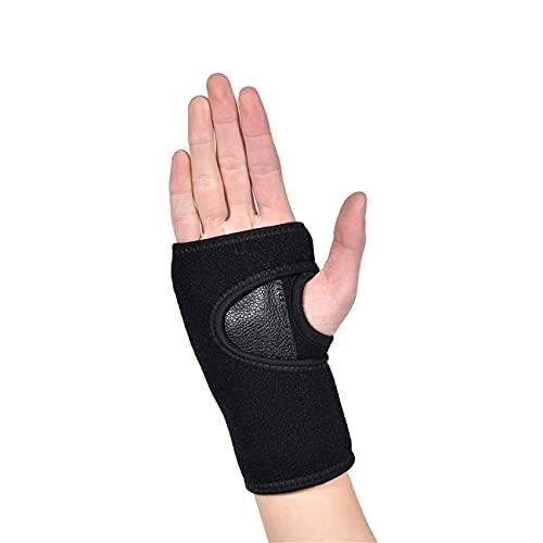 Apoyo de la mano de la palma de la mano de la muñeca, la abrazadera de la muñeca para las muñecas, el túnel carpiano, la artritis, la férula de la muñeca de la tendinitis para los hombres mujeres