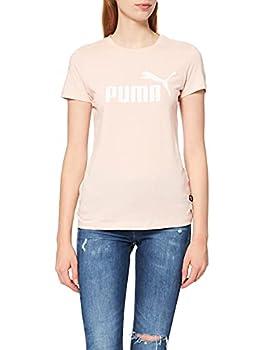 PUMA ESS Logo Tee s, Femme, Rose (Lotus), S