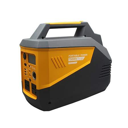 SDC Central eléctrica portátil 750WH, generadores solares portátiles para Uso doméstico, Linterna de batería de Respaldo y Cargador inalámbrico para Acampar al Aire Libre de Emergencia de Viaje