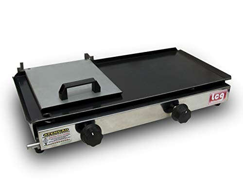 Chapa Sanduicheira Para Lanches Grill Dog com Prensa 30X60cm a gás Lcg