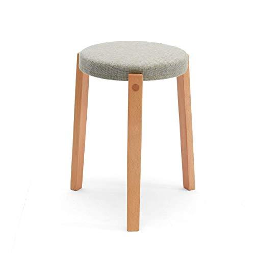 Z-Y Kruk massief hout hoge huis ronde restaurant tafel eenvoudige moderne mode creatieve eenvoudige ronde bank