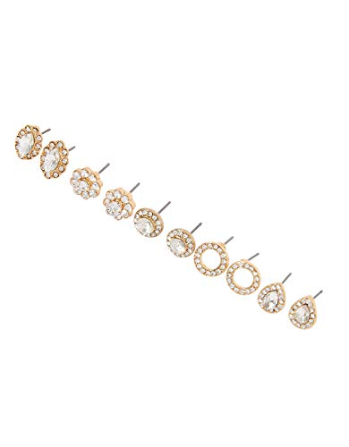 Accessorize Glamazon Sparkle Stud Earring Multipack
