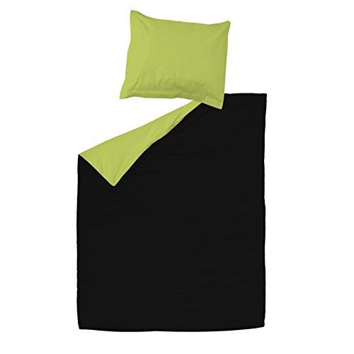 SoulBedroom Grace 100/% Coton Parure de lit Housse de Couette 140x200 cm /& 1 Taie doreiller 65x65 cm
