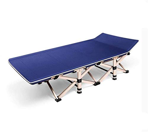 Mecedora Tumbona Plegable Terraza Cama de Camping Plegable portátil fácil de Llevar mwsoz