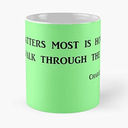 Life People Quote Books Quotes Bukowski Novel Crazy Best 11 oz Kaffeebecher - Nespresso Tassen Kaffee Motive