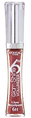 L'Oréal Paris Glam Shine 6H Volumizer Lipgloss, 506 endless carmine