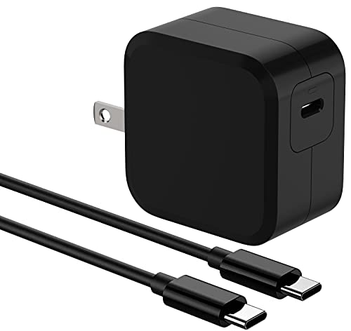 ELECJET 45W USB C Super Fast Charger, PD 3.0 PPS Wall Charger, Compatible with Samsung Note 10+/S20 Ultra/S21/ThinkPad/Lenovo Chromebook/Galaxy Tab S7+, 30 Minutes for 70% Power, Retail Package