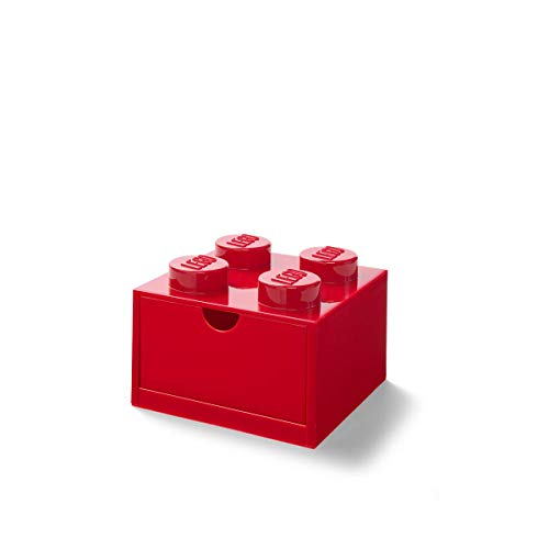 LEGO DESK DRAWER 4 - RED