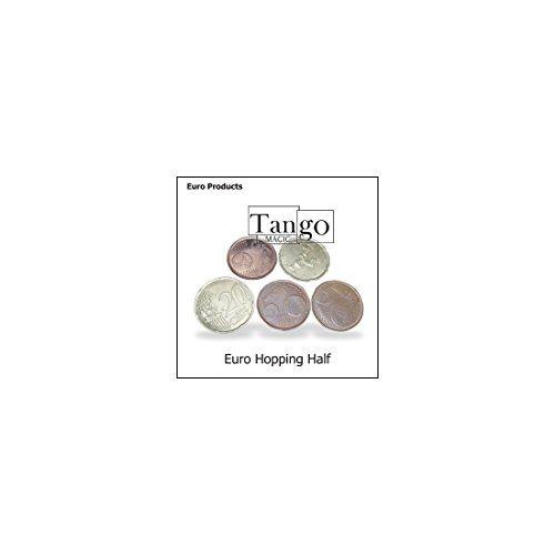 Hopping Half Euro (w/DVD)(E0031)by Tango - Trick