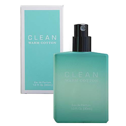 Clean Coton Chaud Classique Eau de Parfum Spray pour Femme 1 oz 29.57 ml