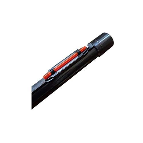 Punto de mira Fibra optica en Color Rojo, imantado, se Puede Poner sin Quitar el Punto de mira del Arma.