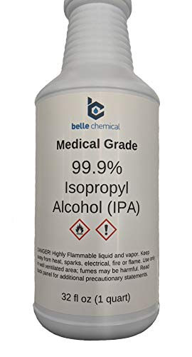Medical Grade Isopropyl Alcohol 99.9% (32oz)