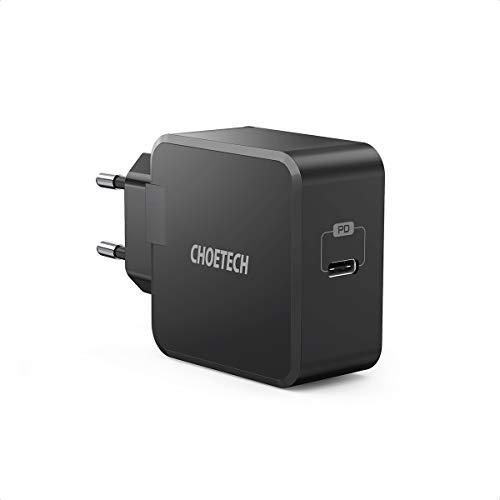 CHOETECH PD 30W USB C Ladegerät mit Power Delivery 3.0 Schnellladegerät Typ CNetzteil für MacBook/Air 13.3,iPad Pro/Air,iPhoneSE/11/11ProMax/XR/XS Max/X,Galaxy S20/Note 10,Huawei P40,Nintendo Switch