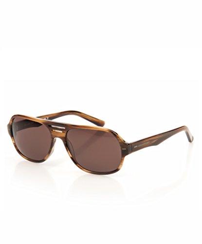 ARMAND BASI 12215 523 59,gafa sol hombre,montura en marrón havanna,deportiva,lentes en marrón.