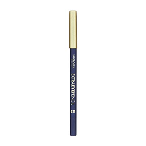 Deborah Milano Extra Eye Pencil in Blue, Purple, Brown, Grey and Black, Waterproof long lasting Eyeliner 0.6g 2 by Deborah Milano