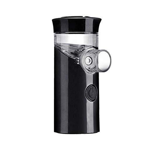 Artibetter Nebulizador Ultrasónico Atomizador de Mano Inhalador Usb Nebulizador Portátil Recargable Pulverizador Humidificador para Sala de Oficina en Casa (Negro)