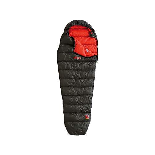 ALTUS - Saco de Dormir Verano Andes 400 Color Verde Bosque| Forma de Momia | Material de Pluma | Temperatura 10 a -8ºC | Ideal para Montaña, Camping o Excursiones
