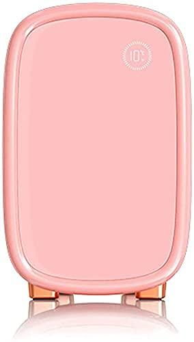 12L Mini Belleza Nevera Profesional Maquillaje Skincare Cosmético Refrigerador Belleza Gabinete de refrigeración Libre Regalo amigable para mujeres para mujeres Chicas, Blanco Jialele ( Color : Pink )