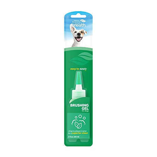 Price comparison product image Fresh Breath by TropiClean Brushing Dental & Oral Care Gel for Dogs & Cats,  2oz,  Made in USA - Removes Plaque & Tartar