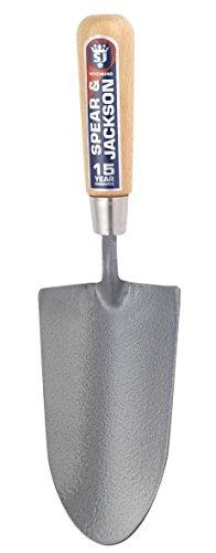 Spear & Jackson 4090NB Neverbend - Cazzuola con manico in acciaio al carbonio