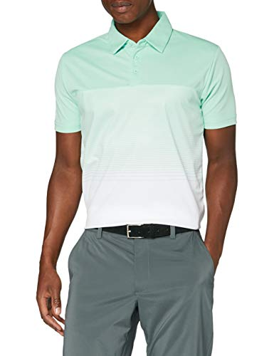 Stuburt Golf SBTS1085 Evolve Dalton - Polo da Golf Traspirante, Elasticizzata, da Uomo, Uomo, SBTS1085_Mint_XL, Menta, XL