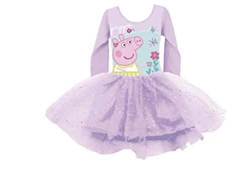 Peppa Pig Ballettkleid mit Glitzer (98/104 - ca. 3-4 Jahre)