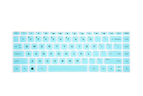 """Keyboard Cover Compatible with 13.3"""" HP Spectre x360 13-ac 13-ae 13-ap 13-w Series Laptop, 15.6"""" HP Spectre x360 15t 15-ap 15-bl Series Laptop - Mint"""