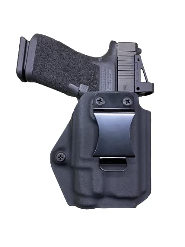 Black Kydex IWB Holster Compatible with Glock 43X MOS Streamlight TLR-7 sub
