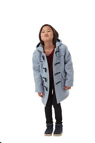 Montgomery Kinder Classic Dufflecoat (Baby blau, 10-13 Jahre)