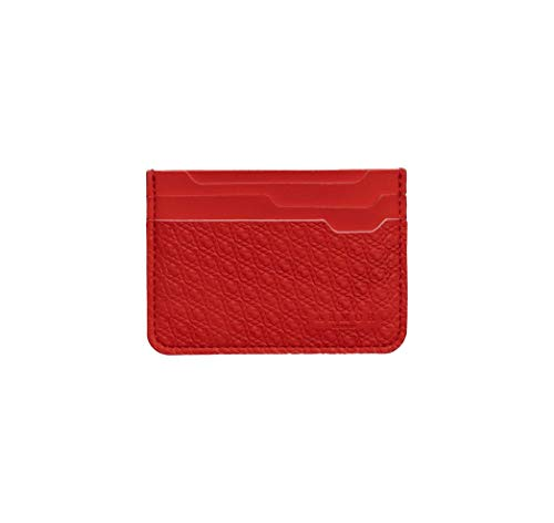 ARMA LDN Vegan Slim Credit Card Holder Wallet, Hand-snitched in The UK, Vegan Small Non Leather Card Case Wallet