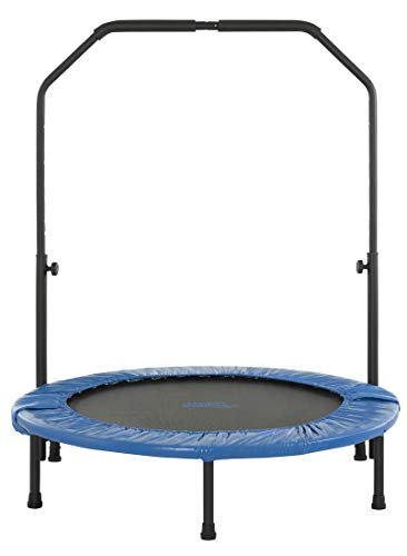 Upper Bounce 40' Mini Round Foldable Rebounder Fitness...