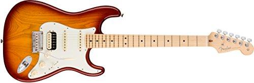 American Professional Stratocaster Ash HSS Shawbucker MN Sienna Sunburst