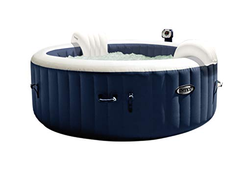 Intex Octagonal Pure Spa - 4 Person Bubble Therapy Hot Tub