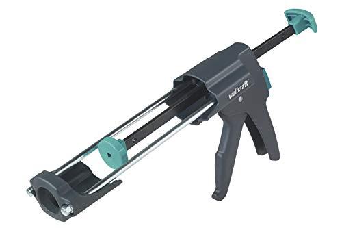 Wolfcraft 1 MG 600 PRO meschanische Kartuschenpresse 4356000 / Kartuschenpistole in Profi-Ausführung mit besonders hohem Anpressdruck / Für 310 ml Kartuschen geeignet