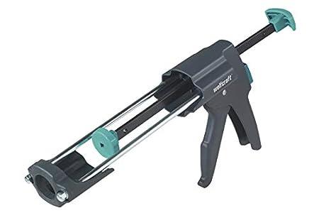 Wolfcraft 4356000 Pistola Selladora, Negro