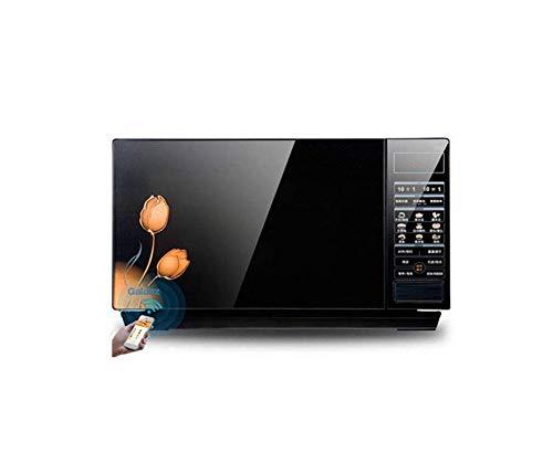 L.TSA Cuisine Électrique Micro-Ondes Smart App Télécommande Écran Tactile Intelligent Lightwave Four Ménage Micro-Ondes Four 23L 220V50hz, B