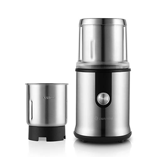 Coffee Grinder with Chopped Cup Set Fruit Grinder Bottle Set Electric Coffee Grinder Coffee Maker,Chopped Cup Set